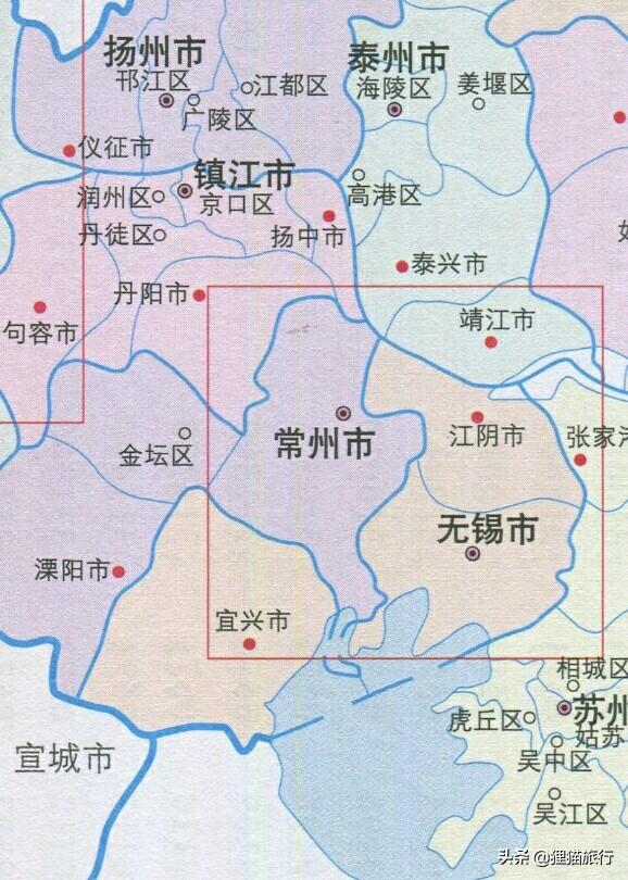 常州,差点就没有太湖和长江了
