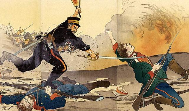 日俄战争:数万日军战死,尸体堆满山头,惨烈程度比数字反应严重