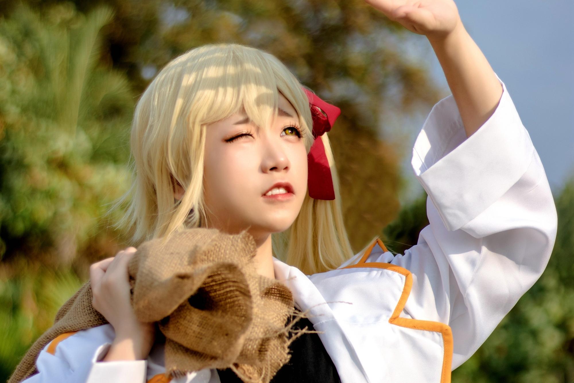 日本女生真的是太拼了,僅僅因為興趣就把自己整成了二次元的模樣