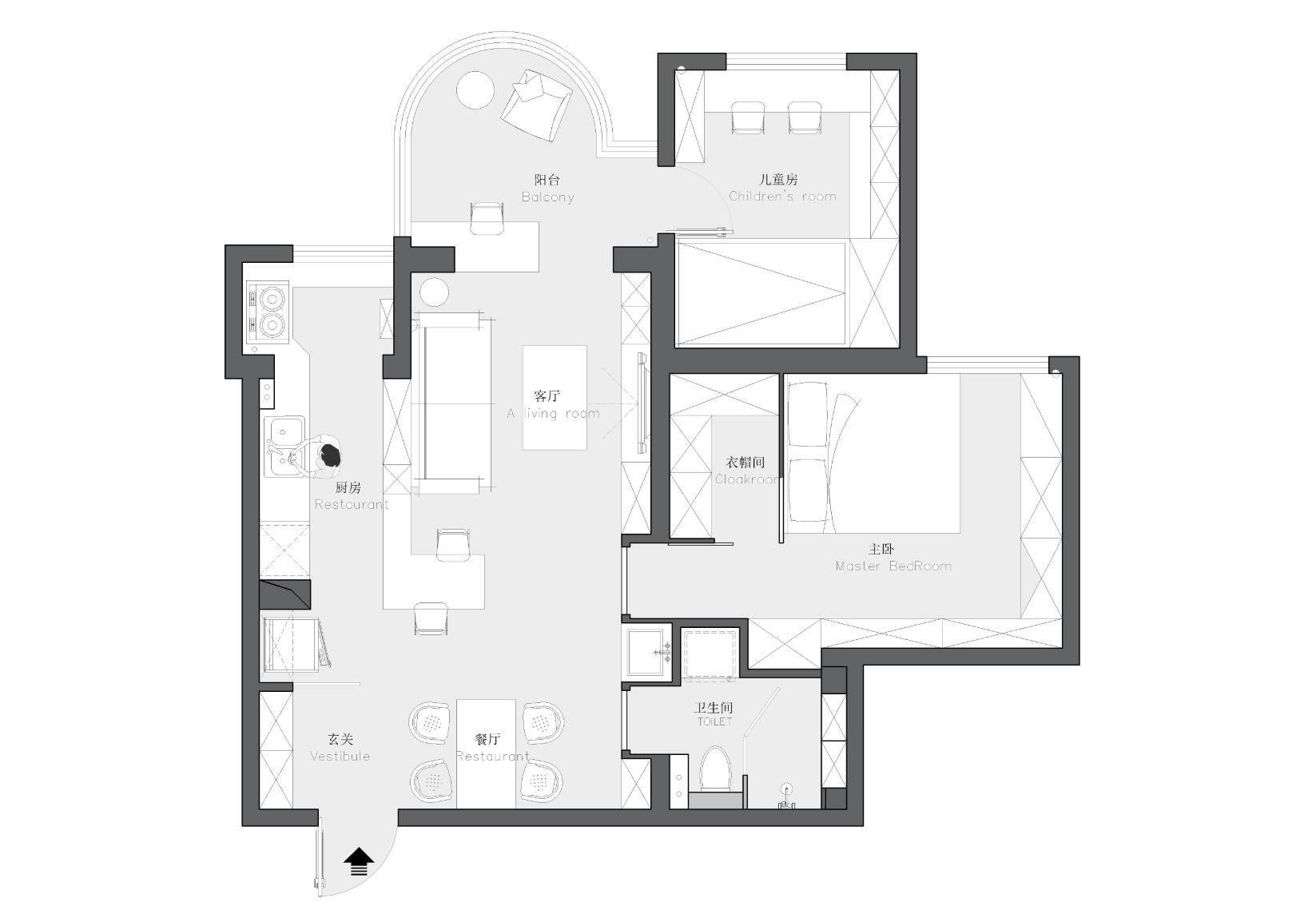 纵然房屋只有82㎡,也抵挡不了一颗想改造的心,设计堪称完美