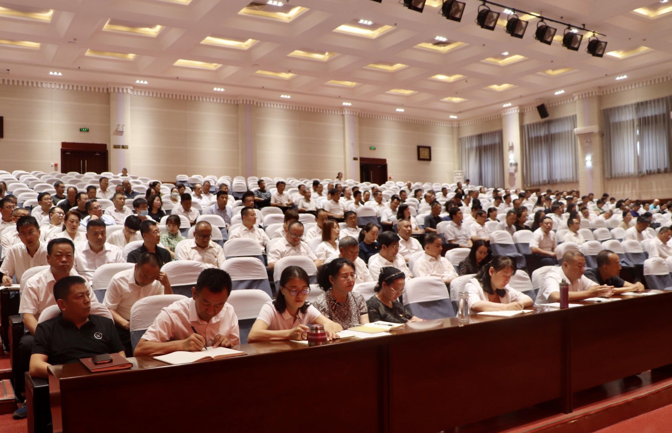 玉泉區科級領導干部學習貫徹習近平總書記在慶祝中國共產黨成立100周年大會上的重要講話精神專題培訓班開班