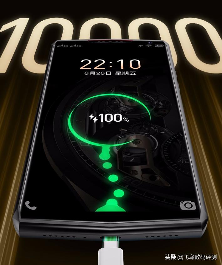 1399元 金立強勢來襲公布10000mAh長續航力商務手機