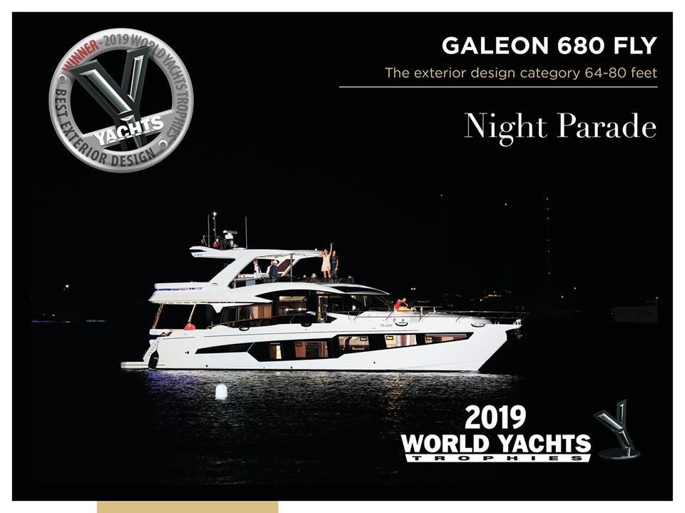 Galeon卡帝尔新晋空间之王「680FLY」,一艘推倒前浪的船型