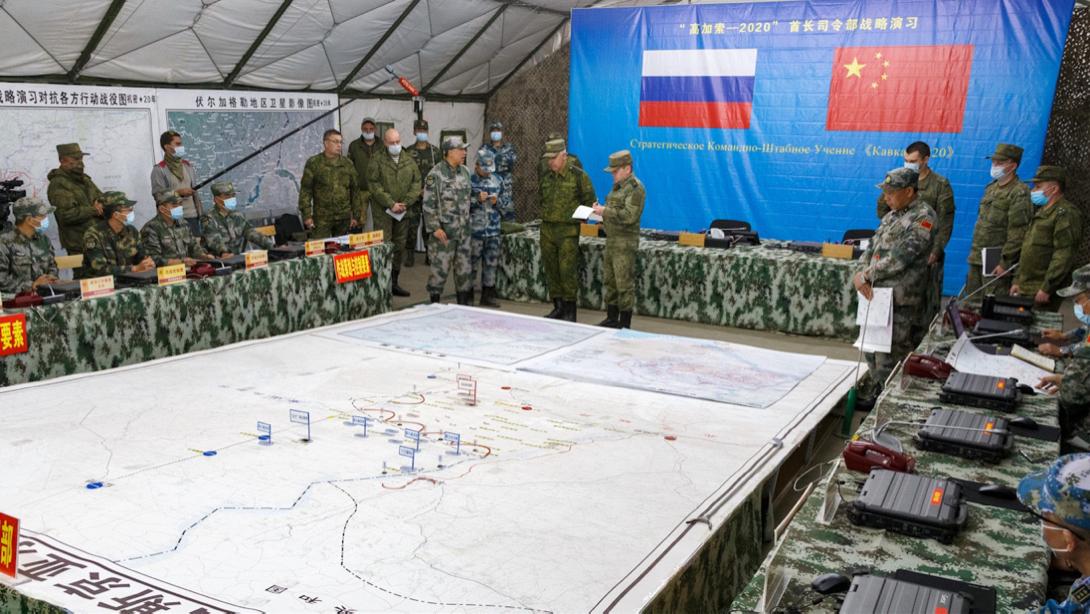 """美国亲手打造强大对手,中俄结成""""热核混合体"""",俄:无法匹敌"""