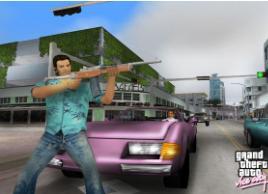 侠盗猎车罪恶都市,所有武器你认识几个