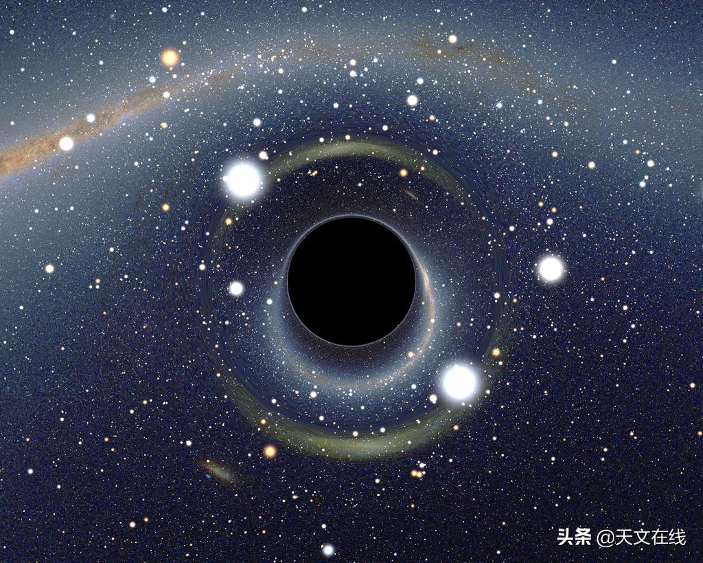 超美!一起来欣赏最新的NASA可视化黑洞