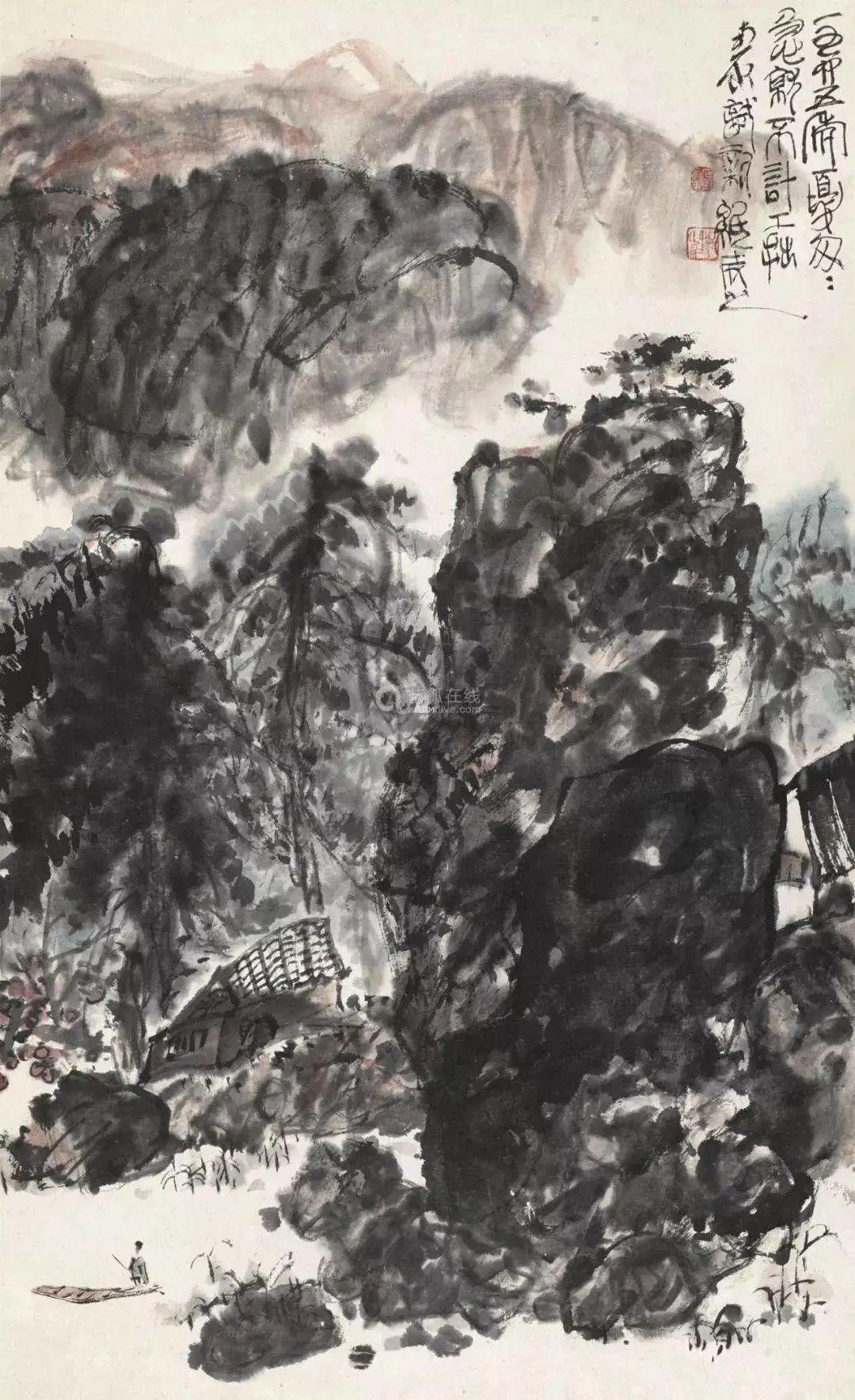 """「巴蜀画派·观点」陈子庄:""""真实感""""三个字不能用在艺术上"""