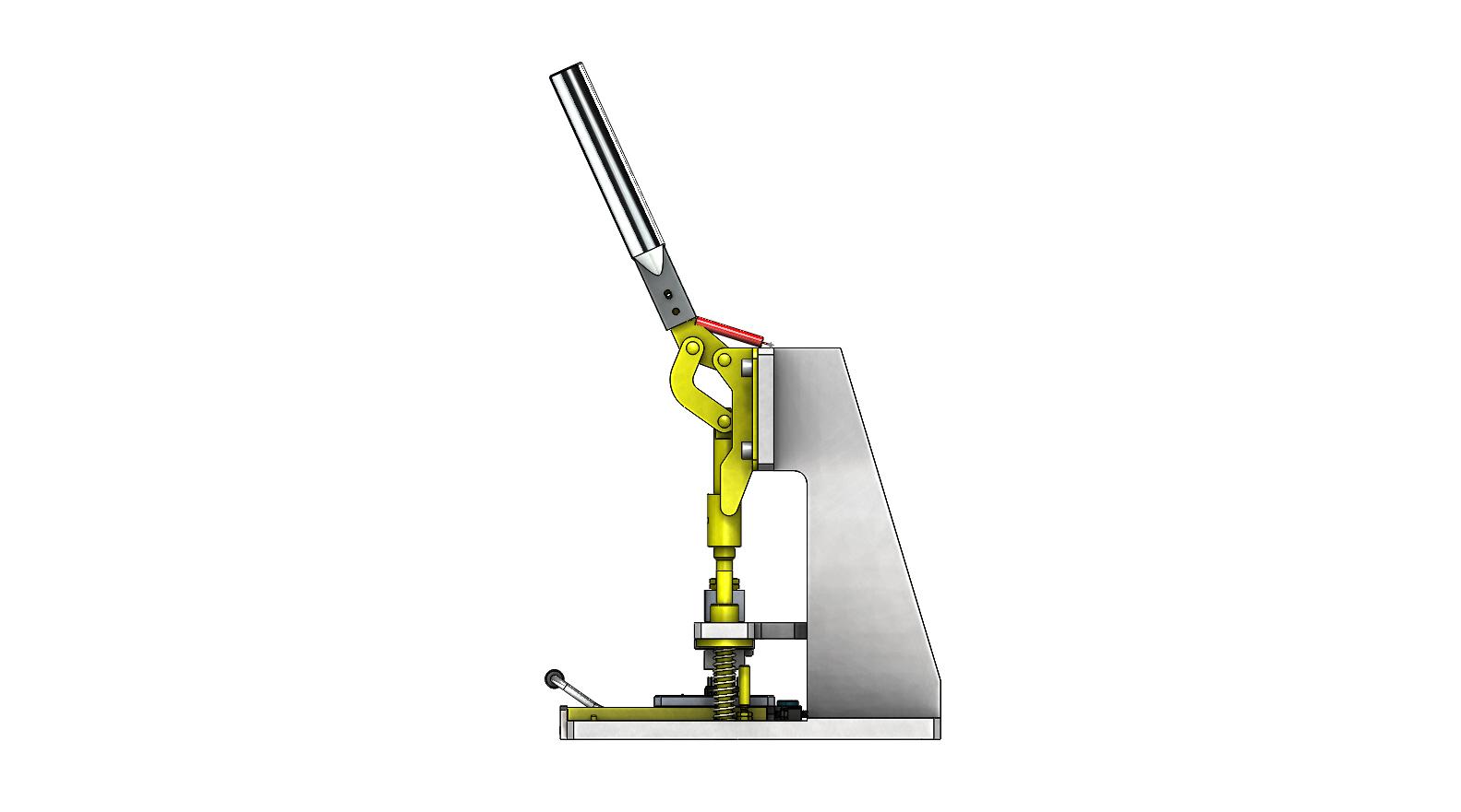 手动插件夹具3D数模图纸 STEP格式