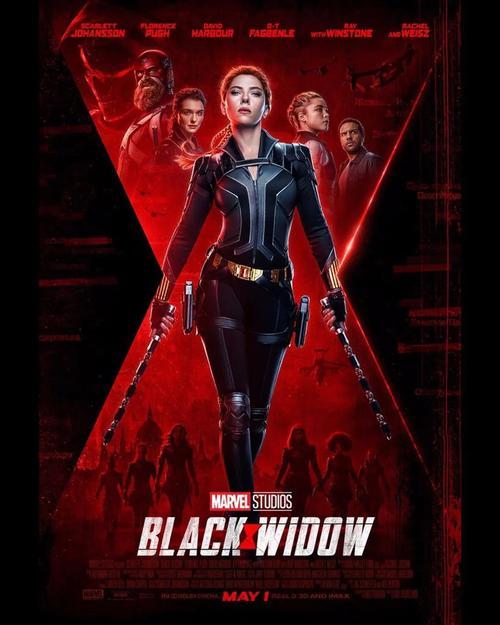 《黑寡妇》来了!漫威两年首部电影终引进,国内已过审或定档五一
