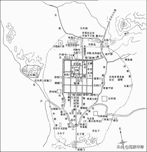 中国建筑(十三)中国古代建筑之三国两晋南北朝城市规划
