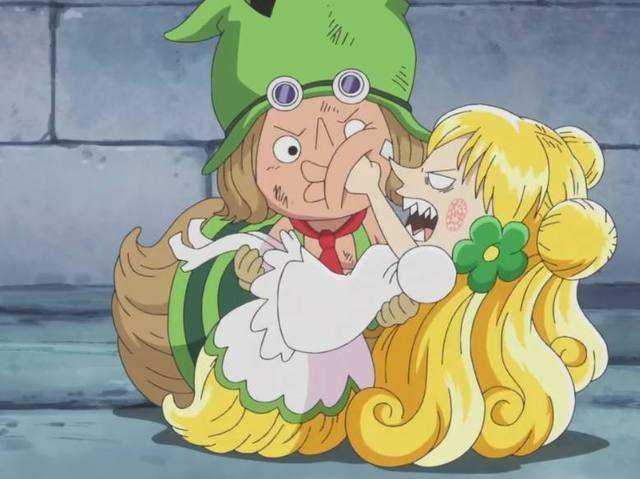海賊王中的6對姐弟戀,御田和阿時相差7歲,卻比不上最後一對
