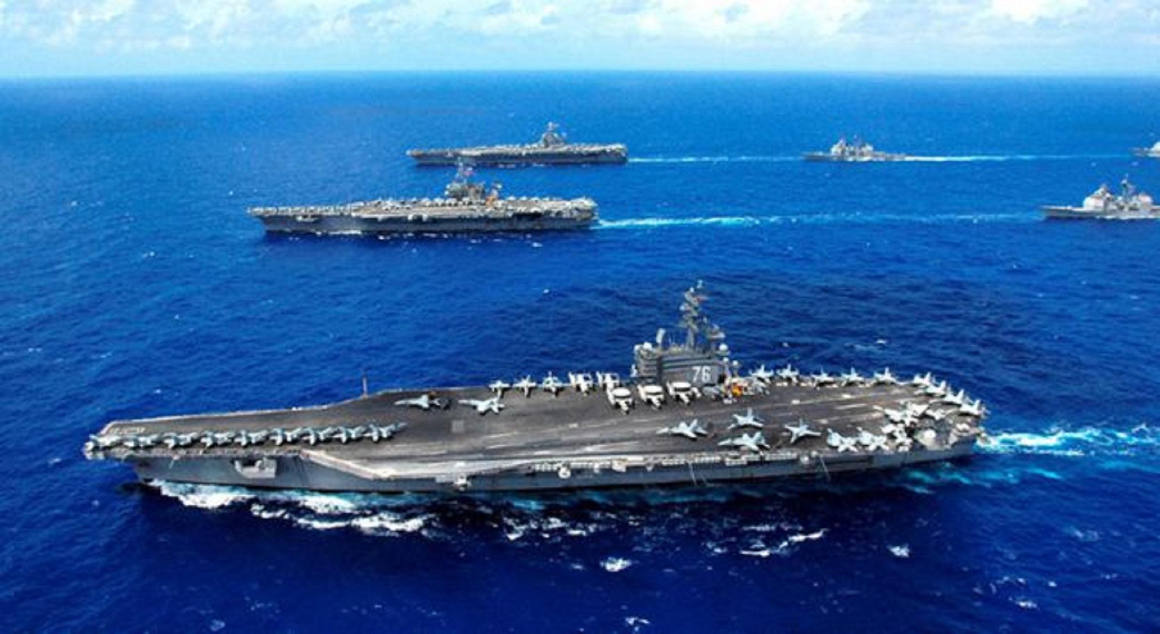 """全世界都在看!一旦中美在台海开战,无论谁赢台岛将成""""冒烟废墟"""""""