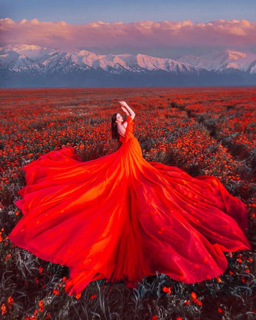 当她穿上裙子,才知道什么叫惊艳