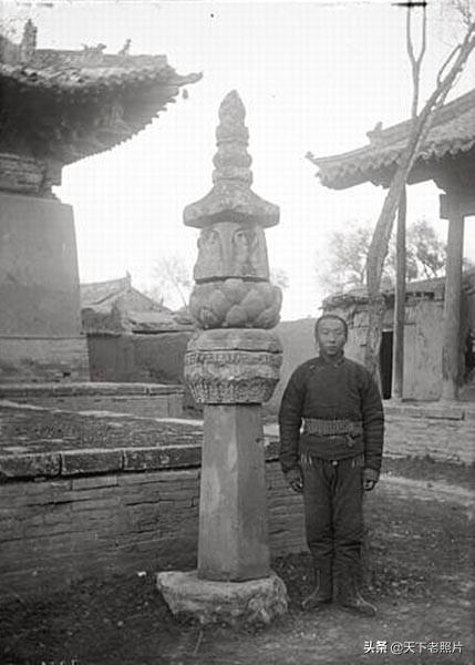 1907年河北怀安县老照片 昭化寺、古长城及怀安城乡风貌