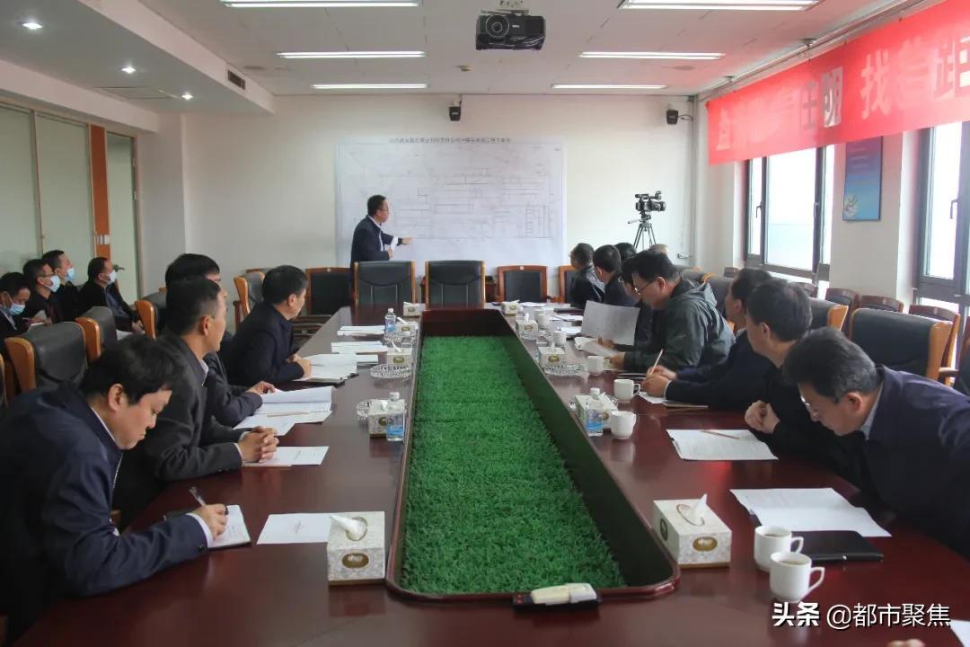 六安化工集团副总经理王强到郭庄煤业公司调研
