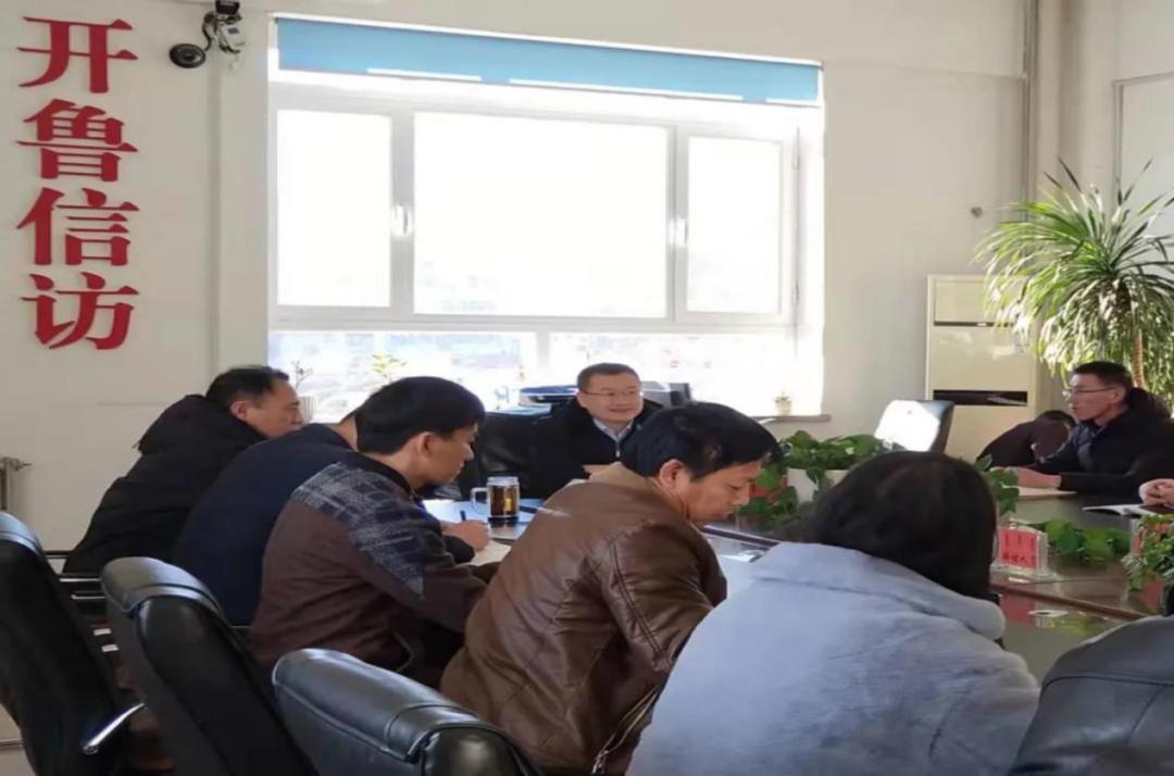 开鲁县委常委、县委副书记刘洋到信访局 调研指导工作