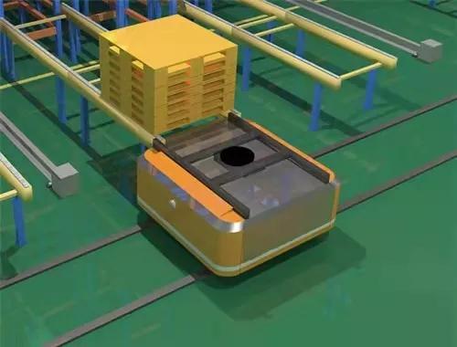 智能agv小车相对于人工的优势