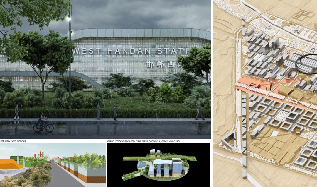 明日之城:多米尼克 · 佩羅建筑事務所邯鄲新城市宣言