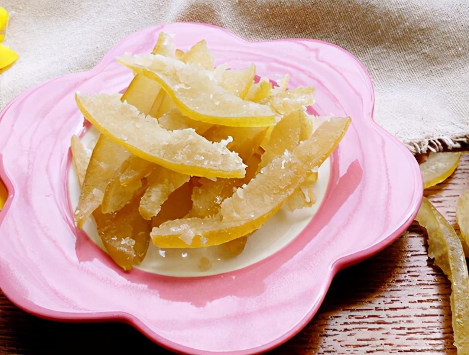 柚皮糖的做法步骤图 润嗓润燥还健脾