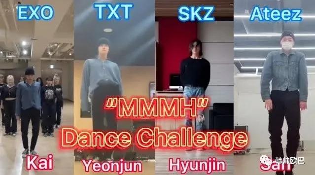 这三位男团爱豆的翻跳挑战,舞姿略有不同,但都有各自的魅力