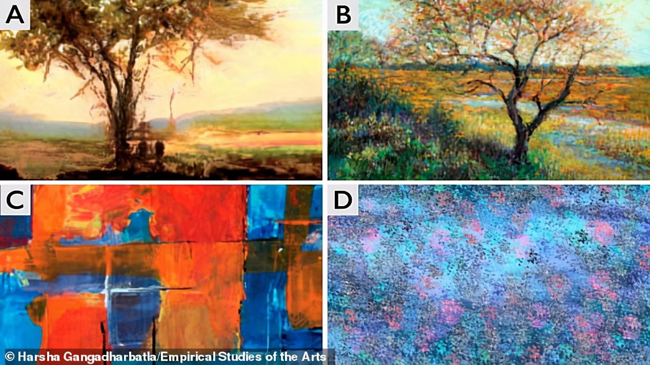 画家将被机器取代?AI生成的艺术品与人类画作已无区别
