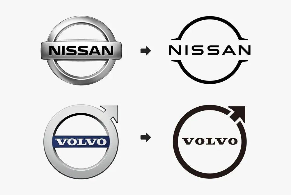 沃尔沃汽车品牌LOGO设计再升级