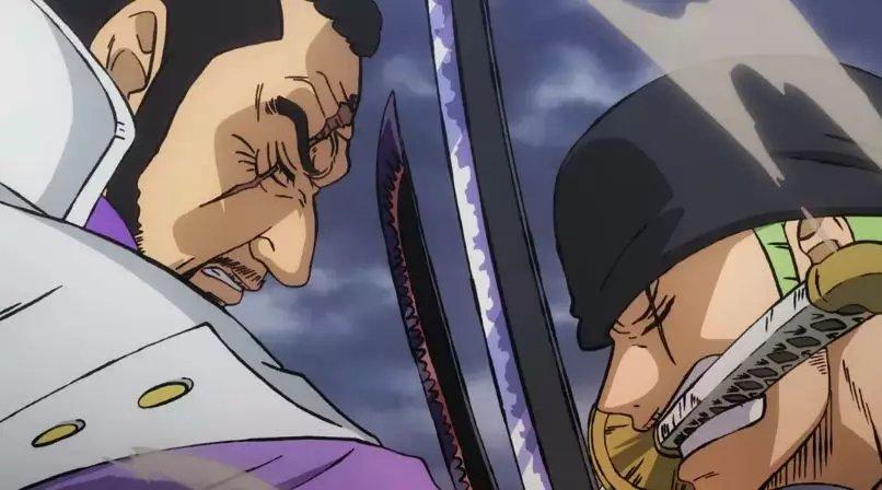 海賊王:你最期待索隆與哪些劍客對決,索隆如今實力比得上鷹眼嗎