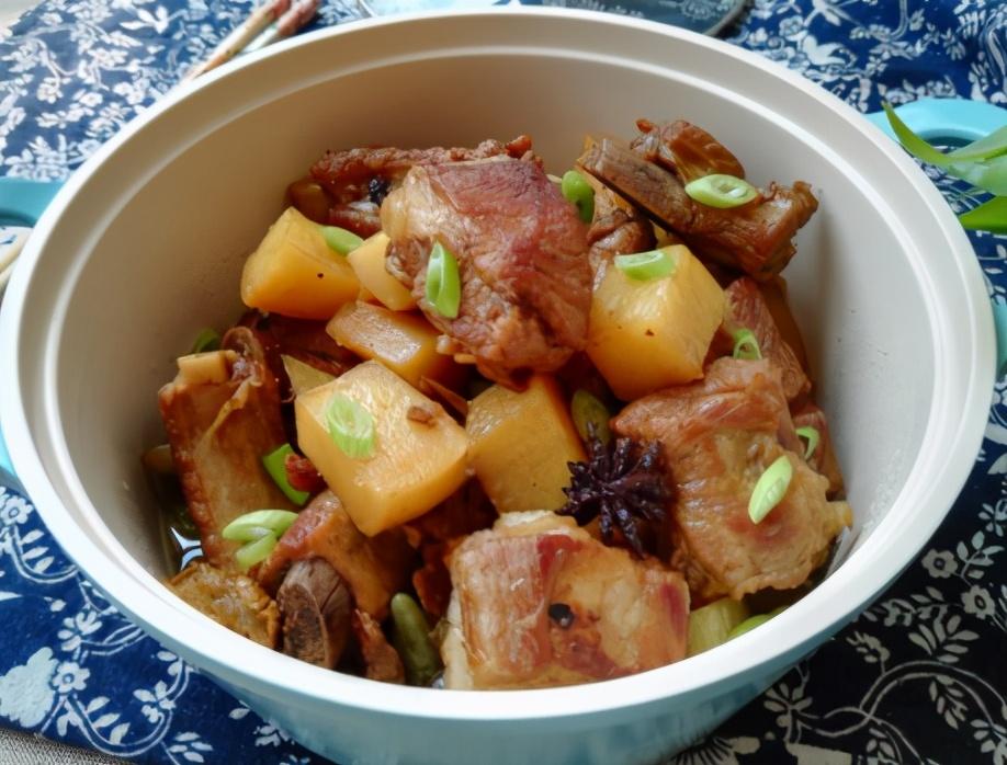 土豆炖排骨的做法步骤图 不柴不腥