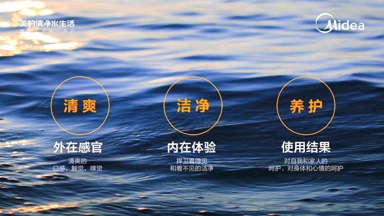 美的三大套系硬核发布,解锁清净水生活全新场景