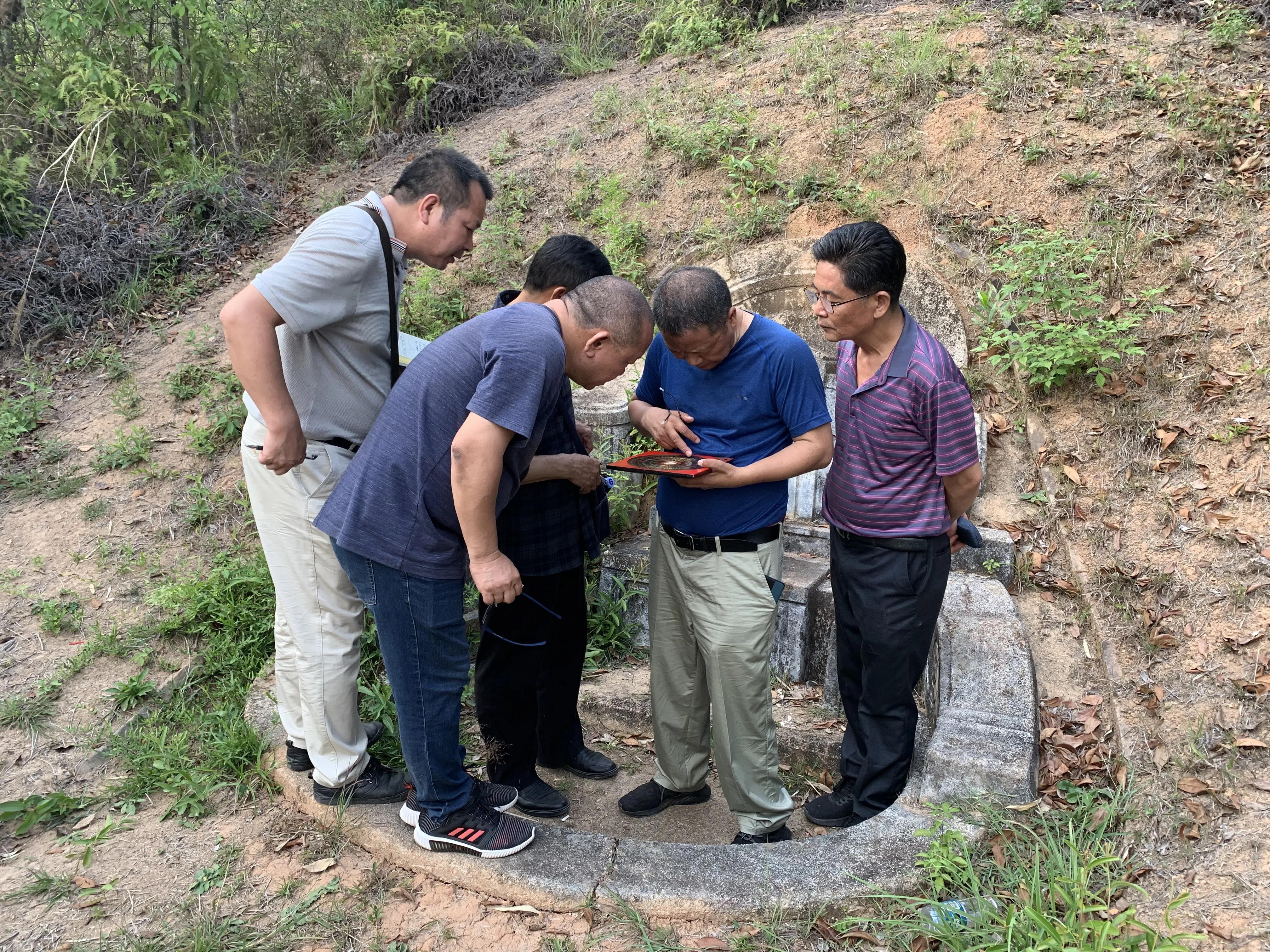 曾祥裕主导的梅州名人名地风水考察活动圆满结束