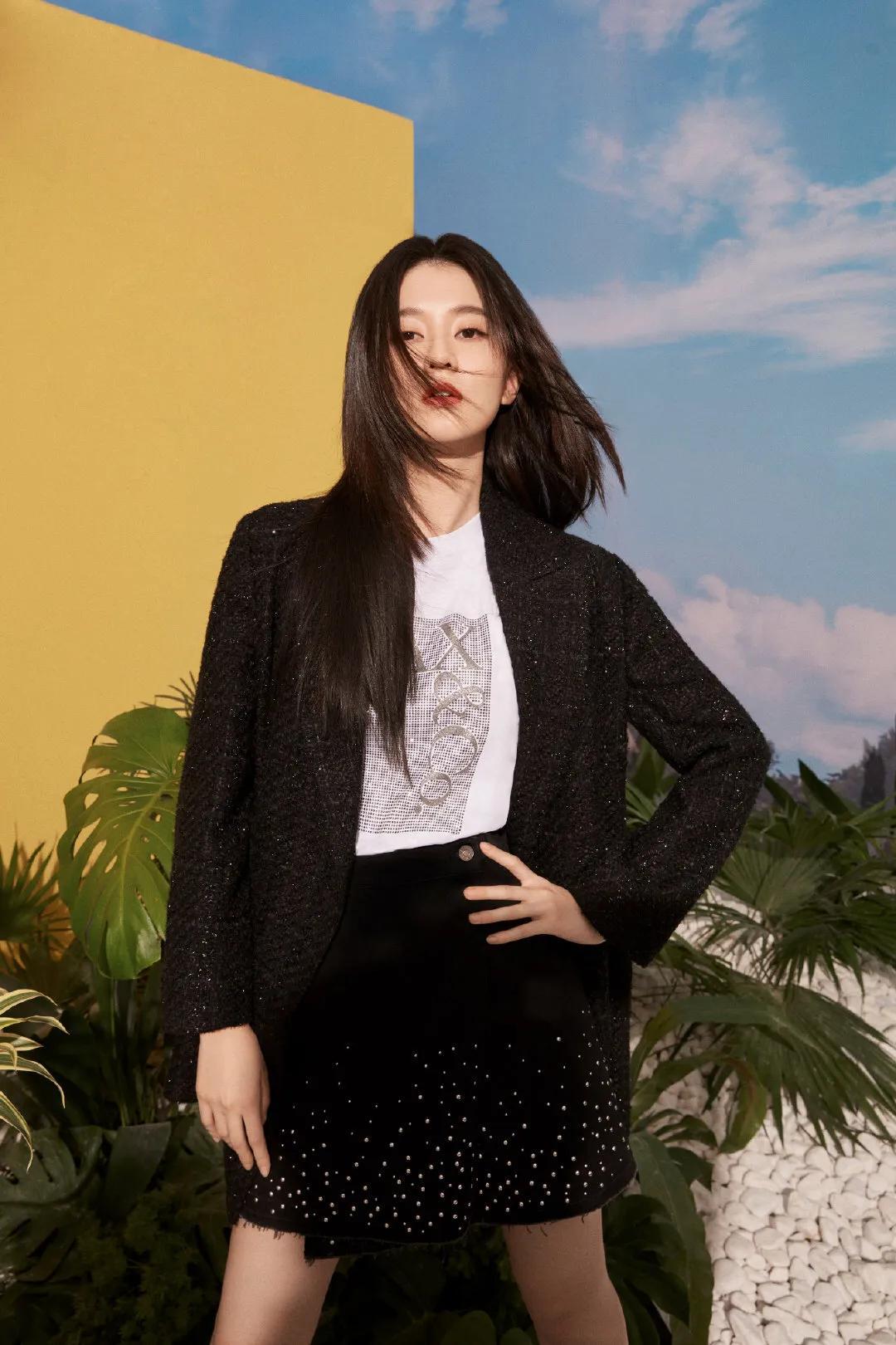 乔欣MAx&co品牌服装照