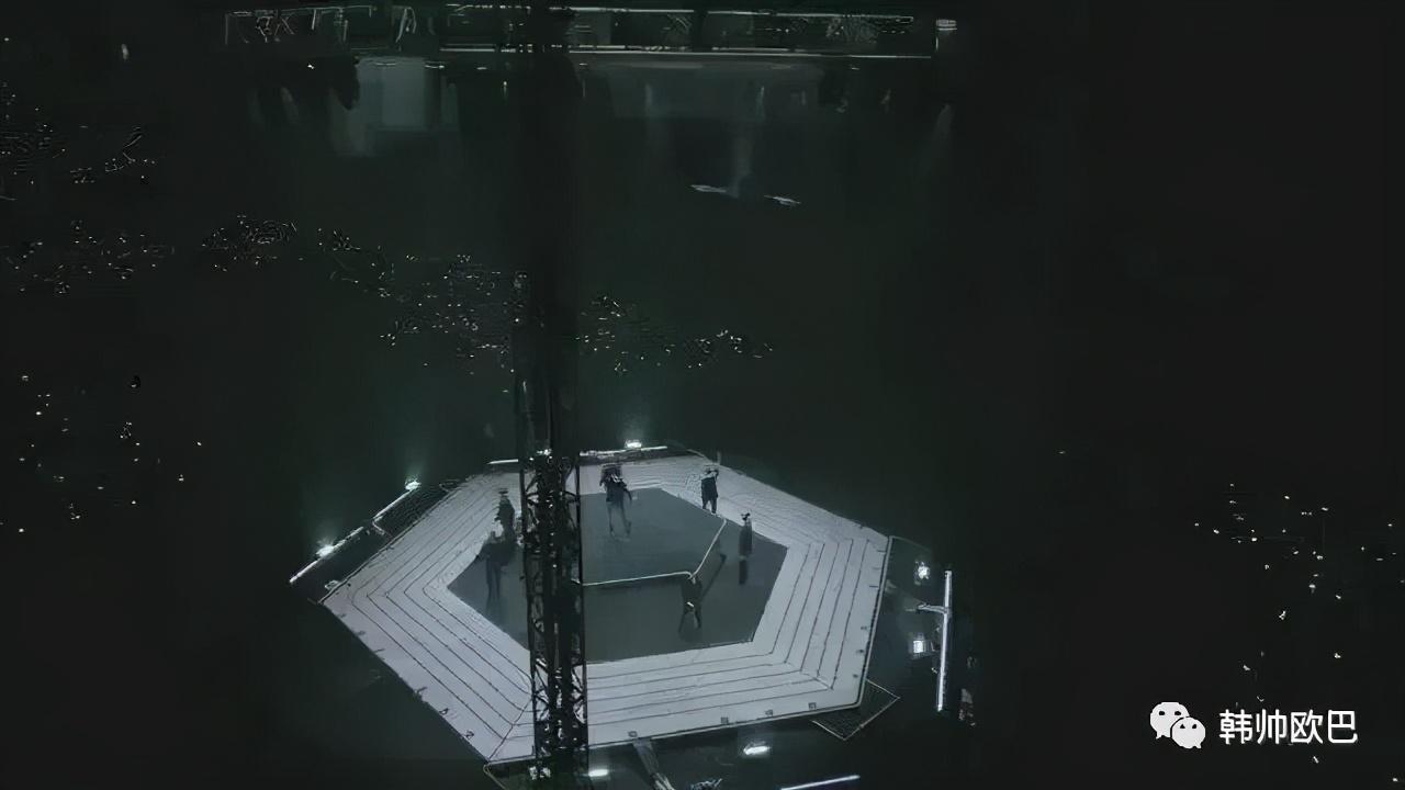 演唱会上将超能力concept运用得非常棒的这个男团