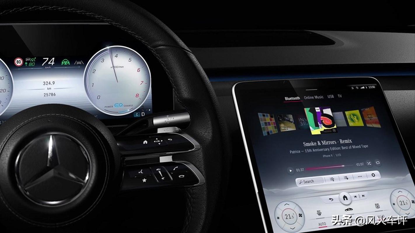 「全新一代奔驰S级」内饰技术解析,这科技和智能,绝了