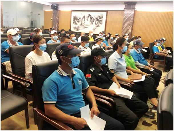 分界洲岛旅游区开展卫生健康知识科普培训