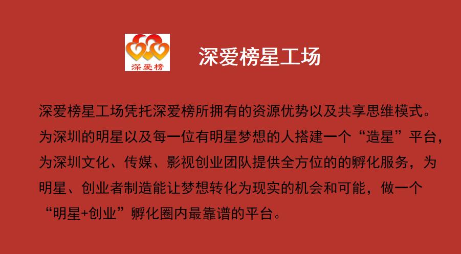 """""""深爱榜星工场""""项目研讨会在深圳龙华召开"""
