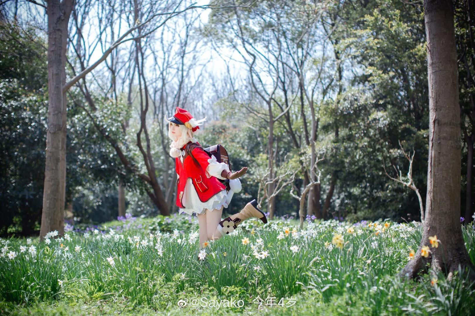 COS:原神可莉COS正片@Sayako_今年4岁