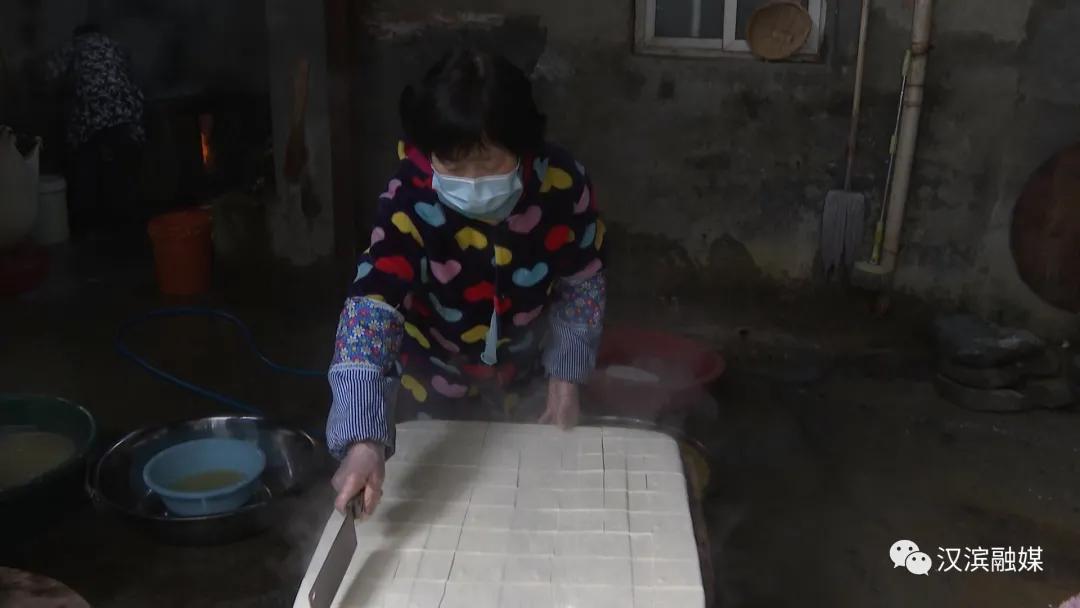 【特写】农家豆腐醉乡愁