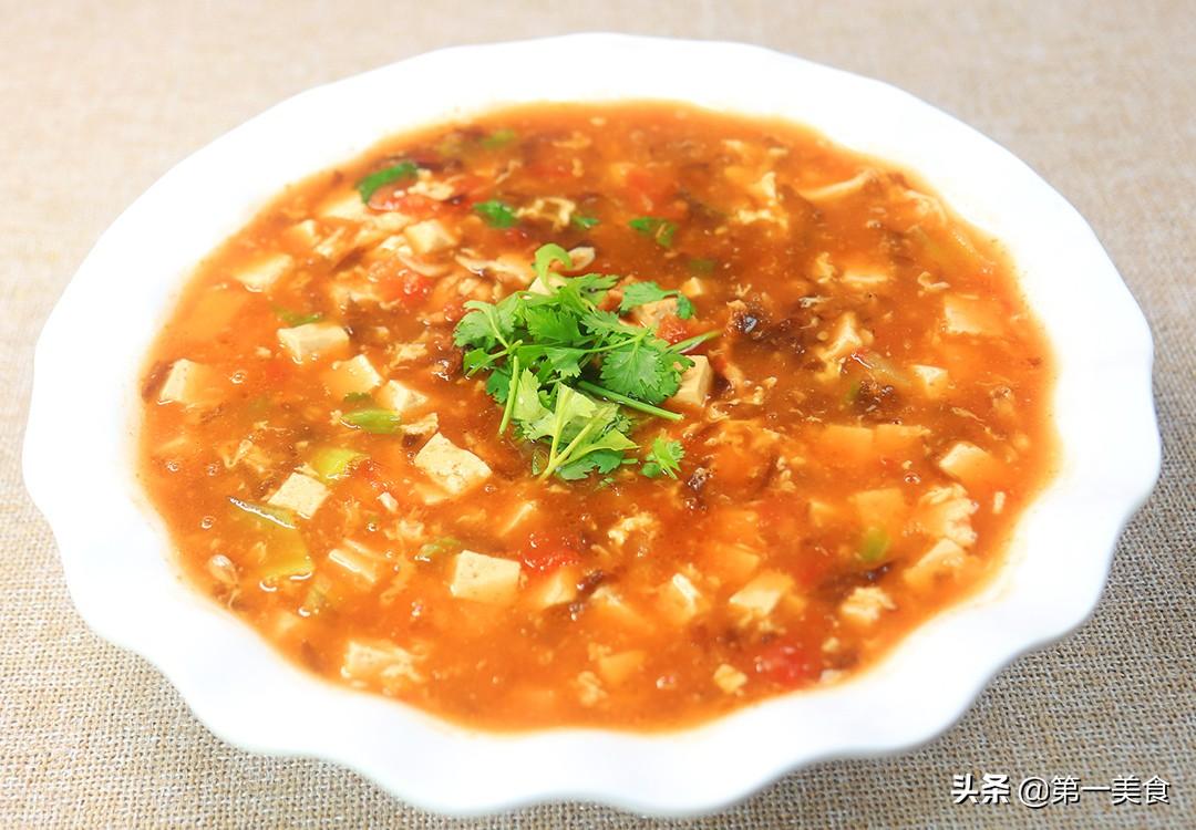 【番茄豆腐汤】做法步骤图 汤汁浓郁 营养美味