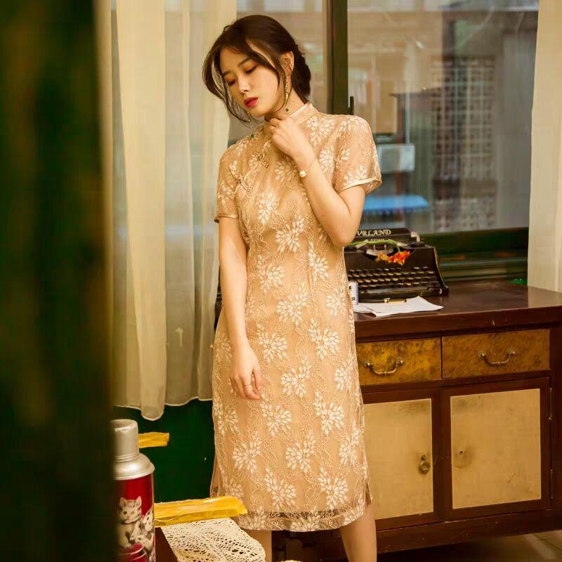 20多岁适合穿什么样的旗袍 少女这样穿旗袍 清纯可人满满的初恋感