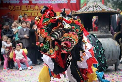 叶德平:物阜民丰瑞兽来,漫谈香港西贡坑口客家麒麟舞