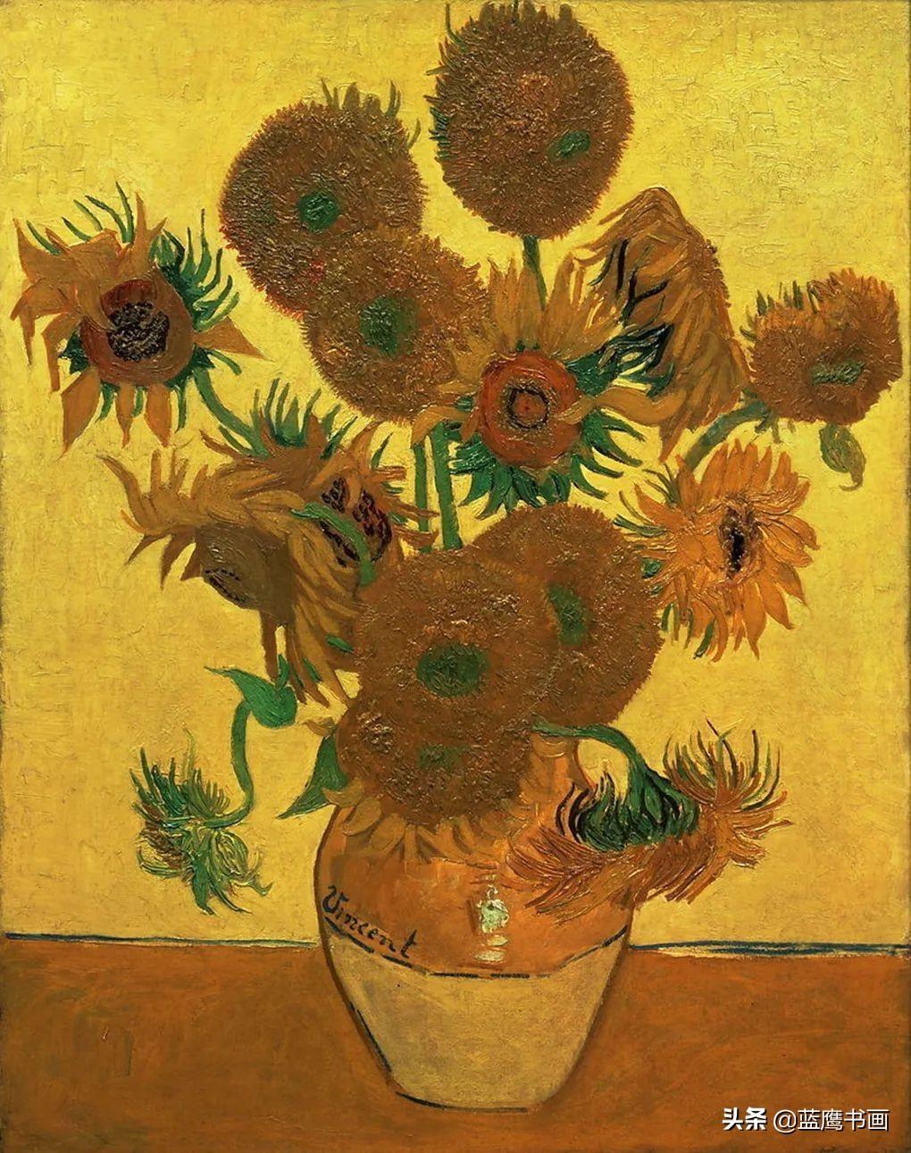 梵高一生只卖过一幅画,只谈过一次恋爱,作品最终拍出不菲的价格