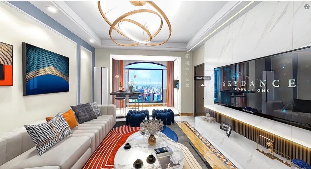 拓境空间新作   碧桂园现代轻奢个性软装,打造温馨之家