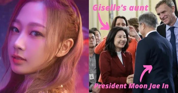 aespa-ITZY成员靠背景出道的?;BLACKPINK-宇宙少女成员梦幻联动