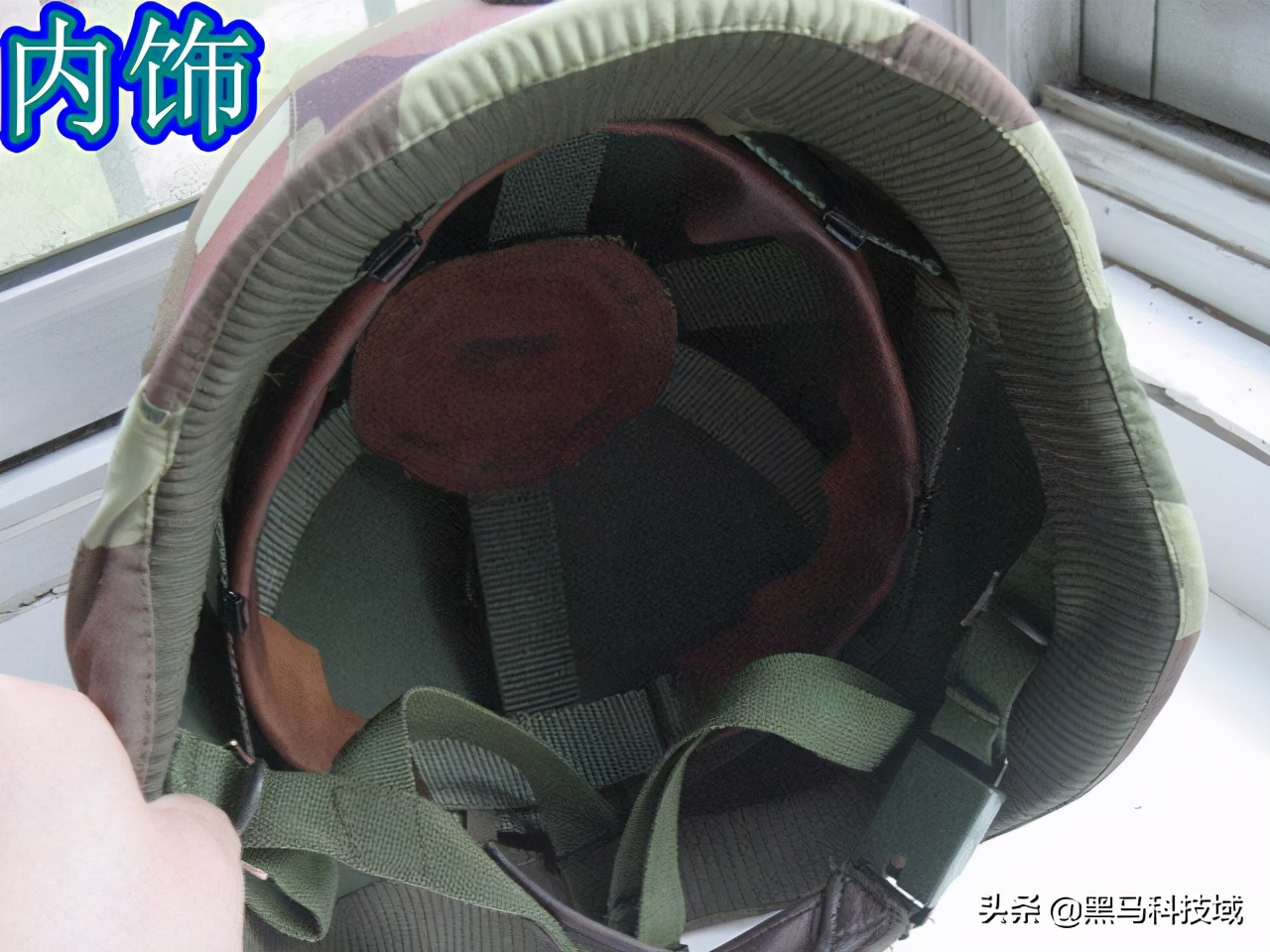 中国QGF02型军用头盔,这质感不愧是子弟兵专属