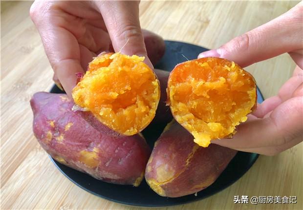 蒸紅薯時,直接上鍋就錯了,多加2個技巧,紅薯香甜又細膩,好吃