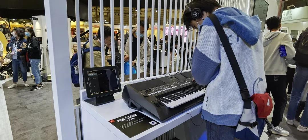 回顾2020上海乐器展,雅马哈电子键盘新品齐聚
