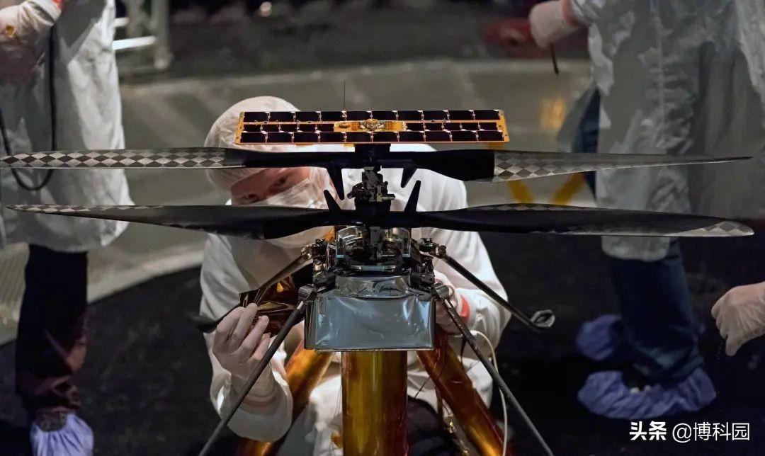 机智号火星直升机,即将翱翔于火星天空,人类首架外星受控飞机