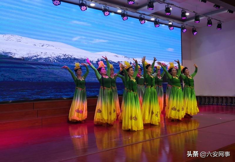 六安举办社区文化专场文艺汇演进校园活动