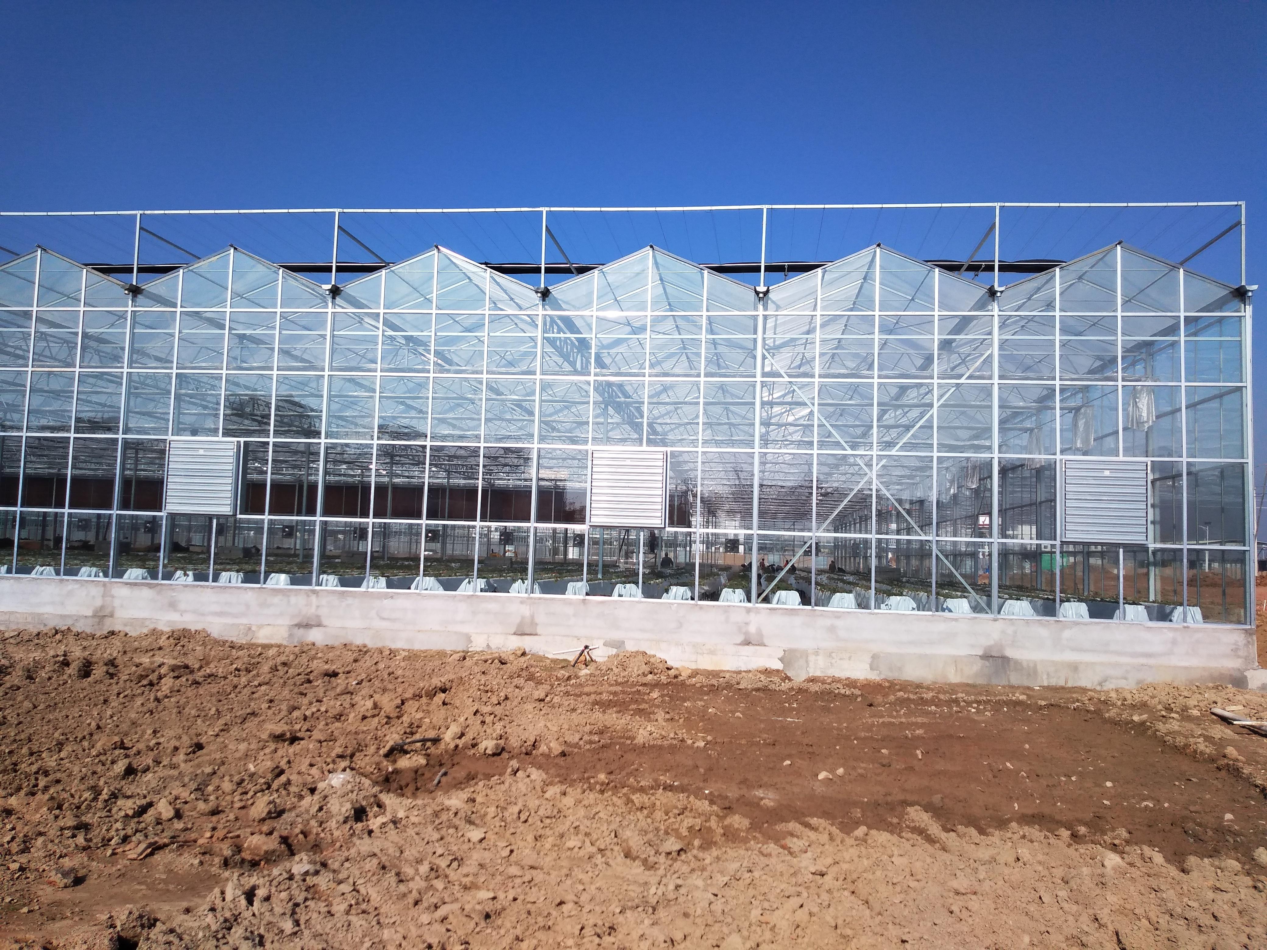 炎热夏季智能连栋温室大棚的内外遮阳系统有何区别,大棚电动遮阳