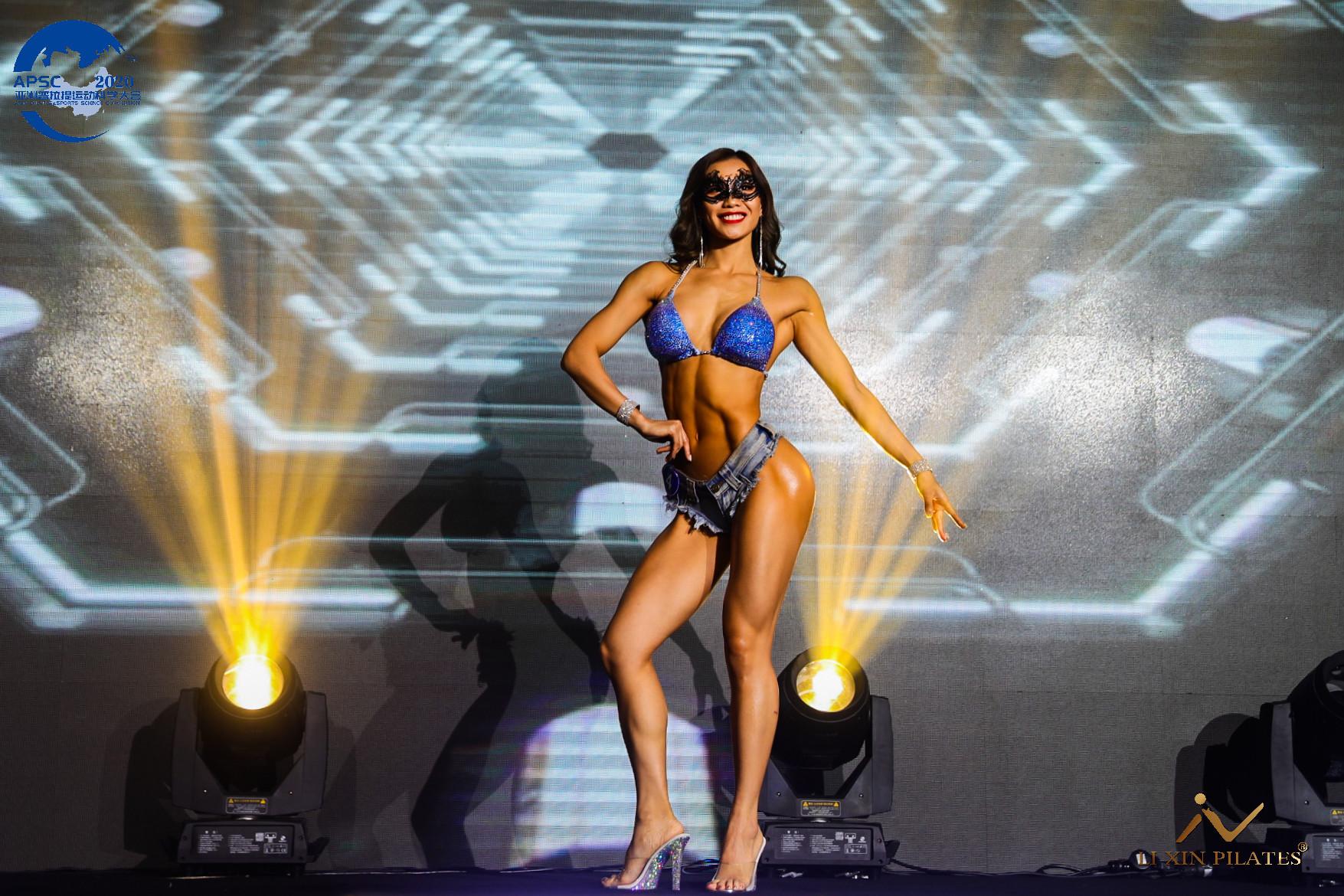 人物专访|佛山力美健教练陈星:原来健身的女人可以这么美